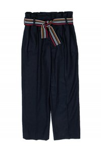 Chinti & Parker Navy Paperbag Straight Pants
