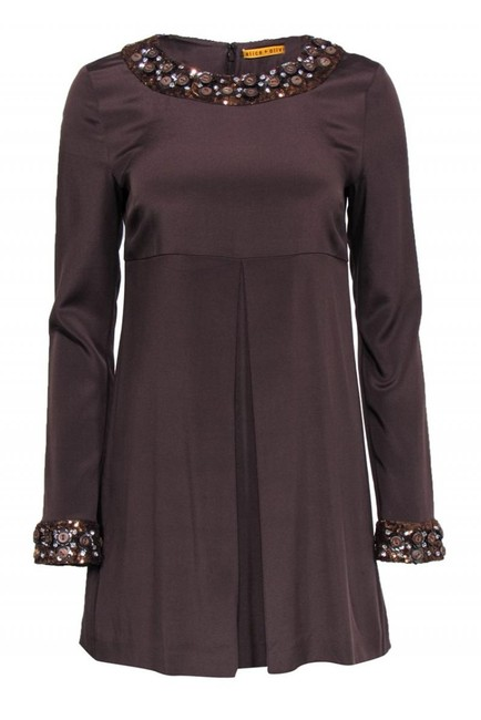 Item - Brown Cocktail Dress Size 4 (S)