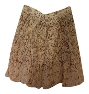Elie Tahari Mini Skirt Pink multi