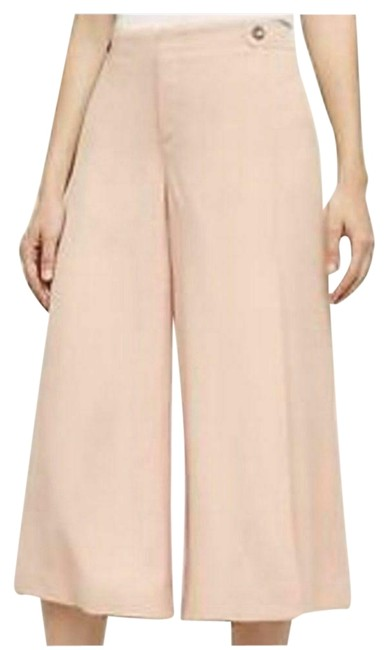 Item - Nwot Pink Essential Cropped Wide Leg Coulottes Capris Size 2 (XS, 26)