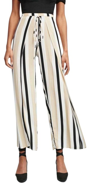 Item - Nwot Cream Mikayla Striped By Faithfull The Brand Pants Size 6 (S, 28)