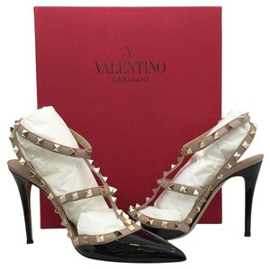 Valentino Nude/black Pumps
