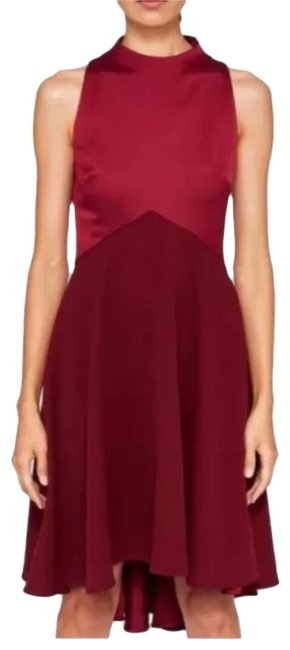Item - Maroon Kandal Mid-length Night Out Dress Size 8 (M)