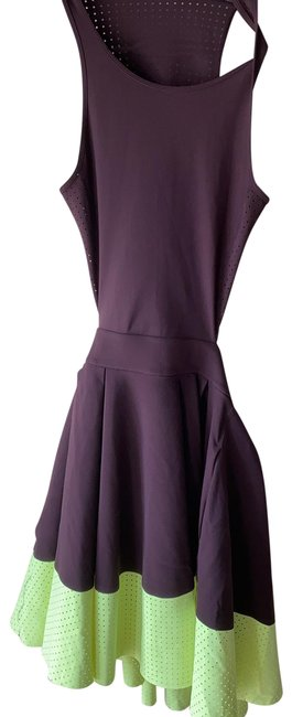 Item - Purple and Yellow Short Casual Dress Size 2 (XS)