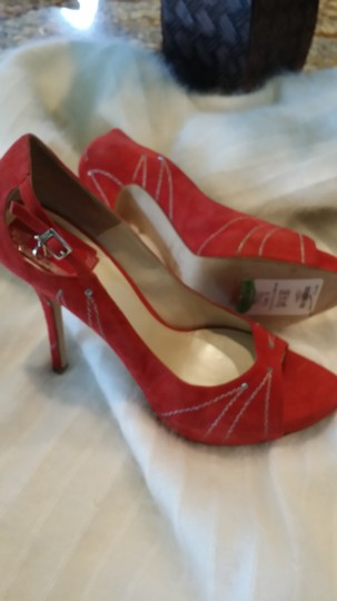 Dior Suede Crystal red Formal