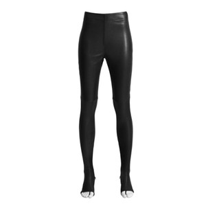 Maison Martin Margiela for H&M Stretch Leather Collaboration Iso Limited Edition Capsule Black Leggings