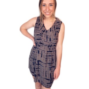 Lucca Couture short dress gray on Tradesy