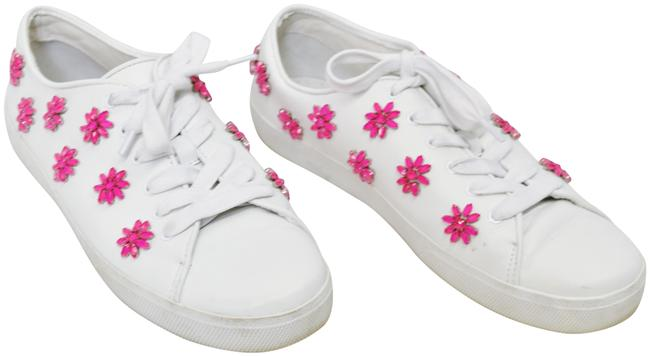 Item - White Leather Sneakers Size US 9.5 Regular (M, B)