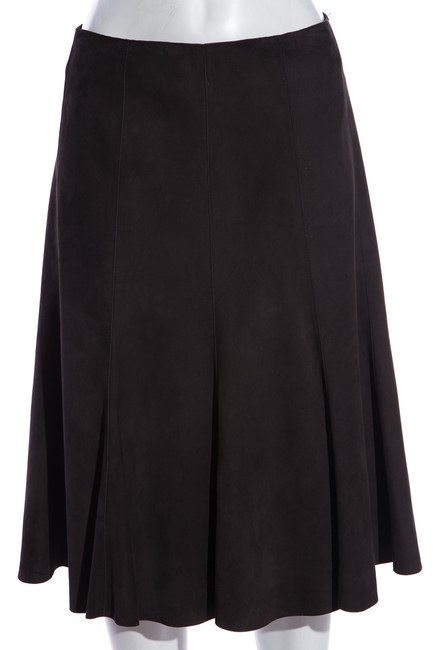 Item - Grey Suede Skirt Size 10 (M, 31)