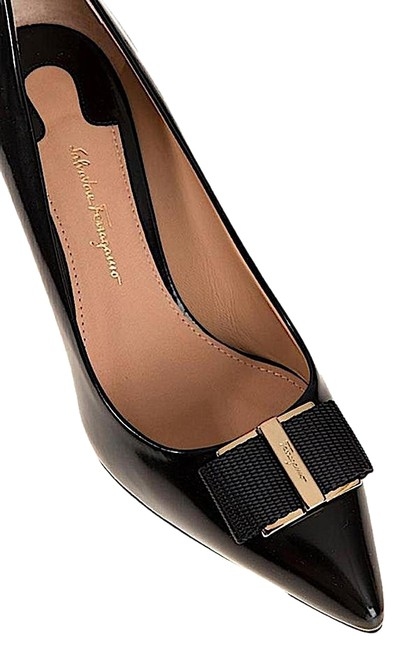 Item - Black/Gold New Friuli Leather Flats Size US 6.5 Regular (M, B)