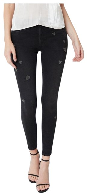 Item - Black X Stephanie Gottlieb - The Charlie Skinny Jeans Size 8 (M, 29, 30)