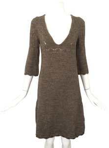 Miss Sixty short dress brown on Tradesy