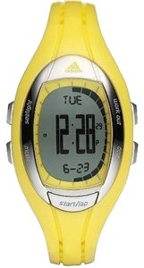adidas ADP3073 Female Sport Watch Yellow Digital