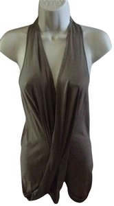 Sharon wauchob 100% Silk Top taupe