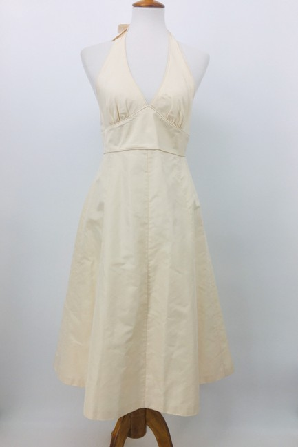 Item - Ivory Silk Taffeta 79769 Destination Wedding Dress Size 6 (S)
