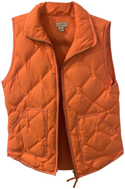 Item - Orange Excursion Quilted Puffer Vest Size 0 (XS)