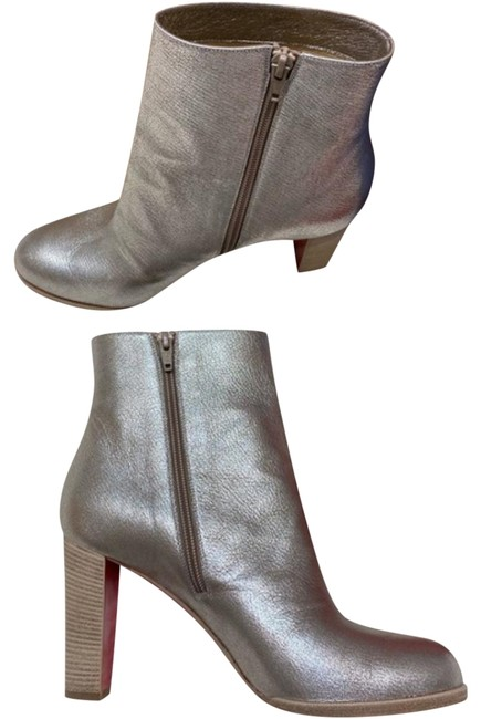 Item - Silver Crackle Adox New 9 Boots/Booties Size EU 40 (Approx. US 10) Regular (M, B)