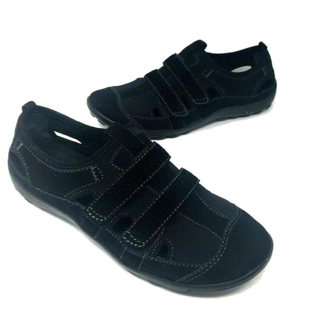 Item - Black Sideline Sport Nubuck Leather Comfort Sneakers Size US 8.5 Regular (M, B)