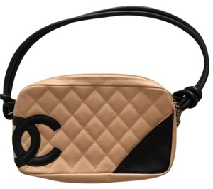 Chanel Vintage Leather Cambon Ligne Baguette