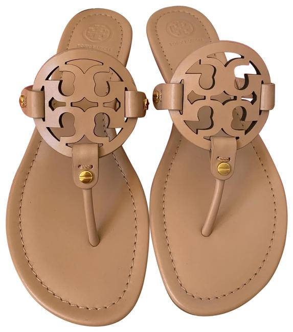 Item - Beige ( Light Makeup ) 11m Miller Veg Leather Sandals Size US 11 Regular (M, B)