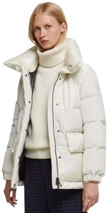 Woolrich Puffer Mix Media Winter Down Wool white Jacket