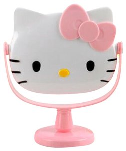 Hello Kitty Tabletop Cosmetic Flip Face Mirror Adult/Kids