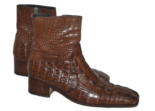 Item - Brown Victor Boots/Booties Size US 10 Wide (C, D)