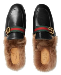 Gucci 7 Slipper Men Black Mules