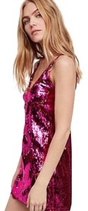 Free People Sequin Mini Dress