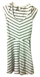 H&M short dress black and white Sexy Tight Shapely on Tradesy