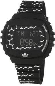 Adidas Adidas Unisex Sports Watch ADH6118 Black Digital