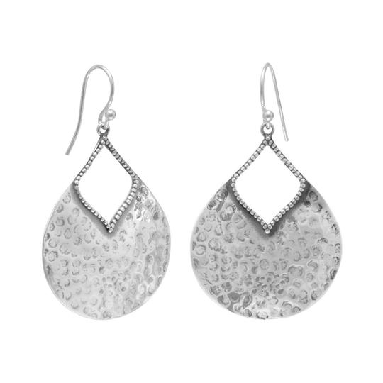 Preload https://img-static.tradesy.com/item/27150851/silver-oxidized-hammered-pear-shape-earrings-0-0-540-540.jpg