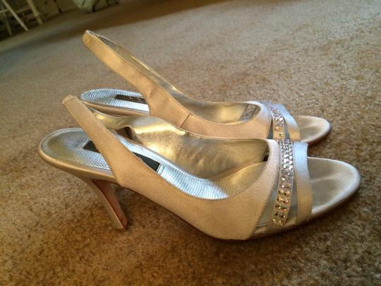 Other Prom Heels Glittery Studs Silver Formal