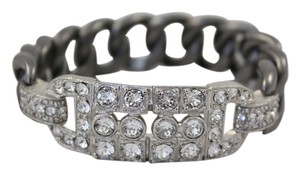 Chanel Chanel '14 Brushed Gun Metal Chain-Link