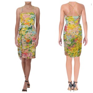 Boutique Moschino short dress yellow on Tradesy