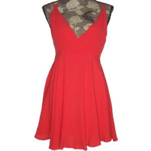 Forever short dress Coral on Tradesy