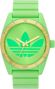 adidas ADH2805 Unisex Sport Watch Green Analog