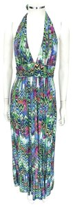 Multicolor Maxi Dress by T-Bags Los Angeles