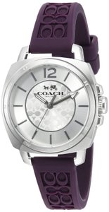 Coach Stainless Purple Signature Strap Womens 14503144