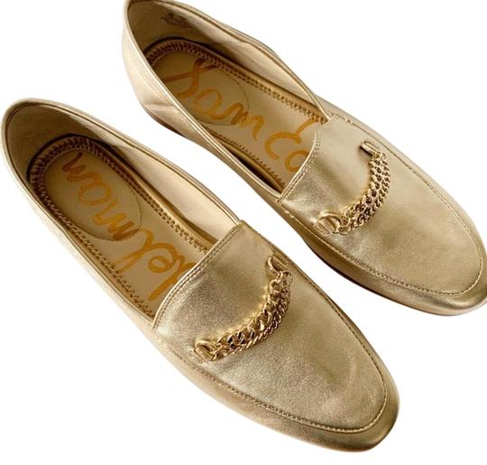 Sam Edelman Gold Loafers Flats Size US