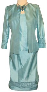 Nipon Boutique Formal Elegant 3 pieces skirt suit - Decorative