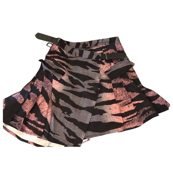 Item - Pink/Black -pleated Tiger Check Sz2-4-6 Skirt Size 4 (S, 27)