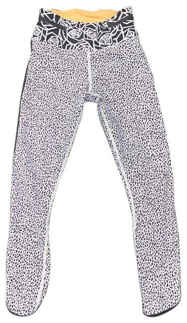 Item - Miss Mosaic / Posey Black & White Real Quick Tight Activewear Bottoms Size 2 (XS)