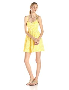 Lilly Pulitzer short dress yellow on Tradesy