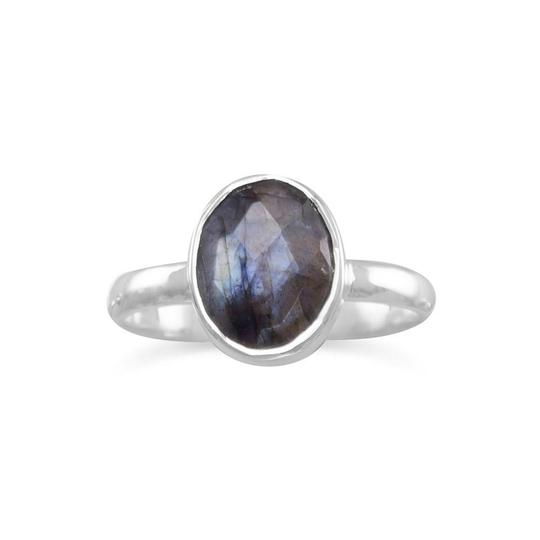Preload https://img-static.tradesy.com/item/27155236/silver-faceted-labradorite-stackable-ring-0-0-540-540.jpg