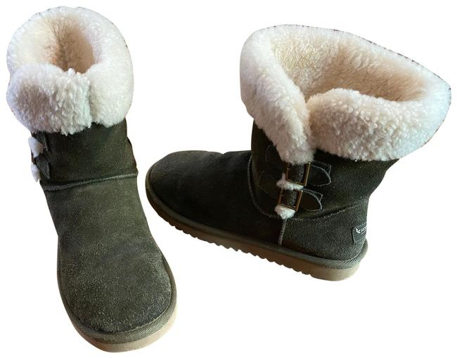 Item - Green Koolaburra By Shearling Boots/Booties Size US 7 Regular (M, B)