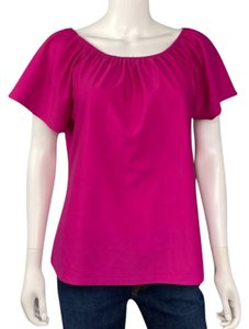 Jude Connally Shortsleeve Spring Top Pink