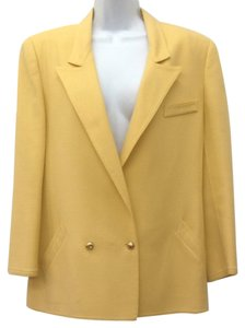 Louis Feraud Yellow Blazer