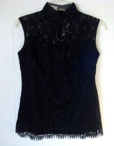 Madame Butterfly Top Black