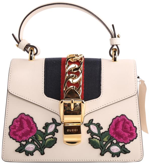 Item - Shoulder Bag Sylvie Small Off White Leather Tote